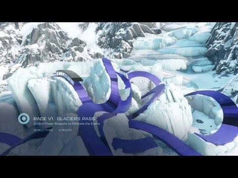 Halo 5 Racetrack Review (Glaciers Pass)