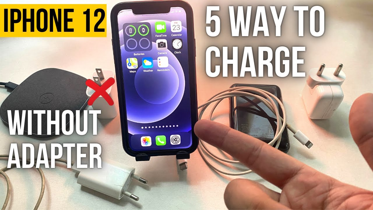 5 Cách sạc pin iPhone 12 Pro Max