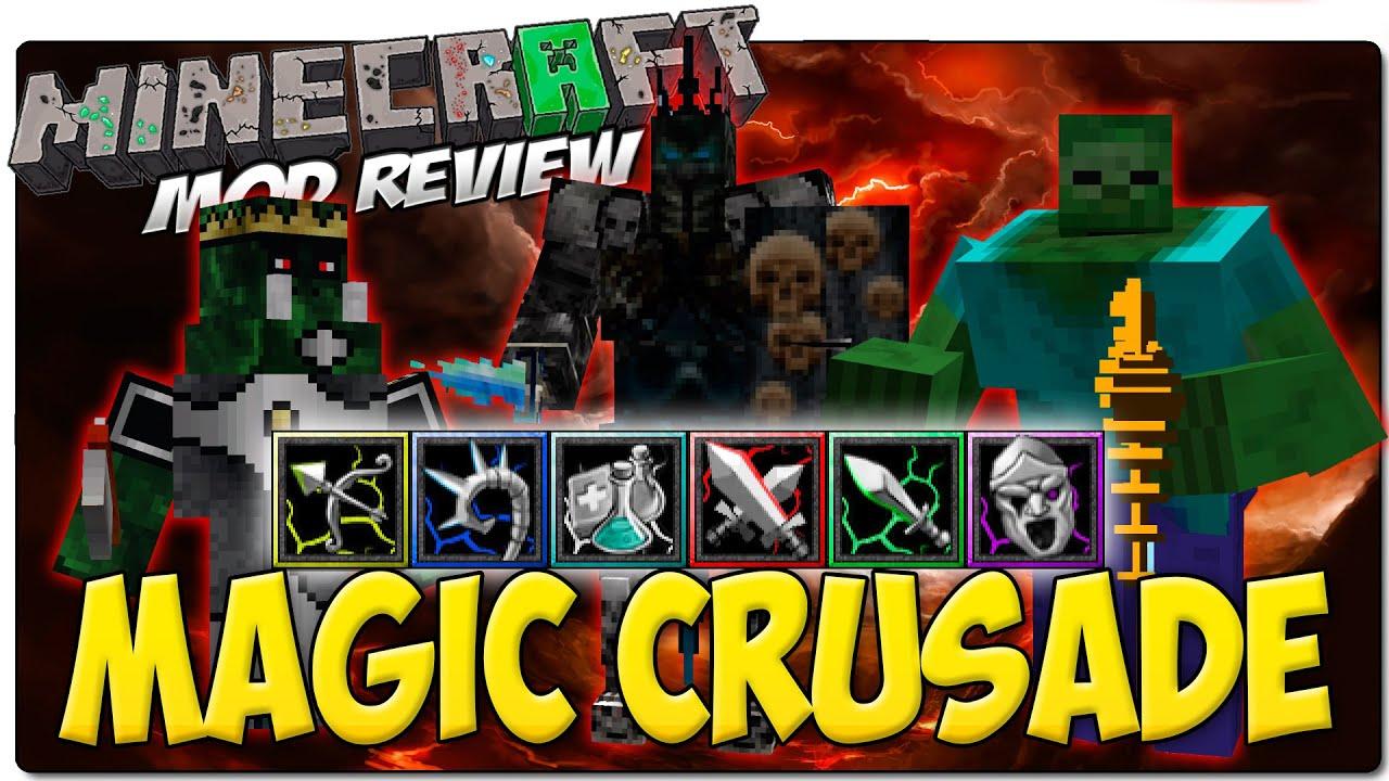 Magic Crusade Server - 77.111.200.146:25565 Minecraft Server