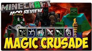 MAGIC CRUSADE MOD PARA MINECRAFT 1.7.10 | Mod de facciones y armas de Apocalipsis Minecraft 4