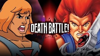 He-Man VS Lion-O | DEATH BATTLE!