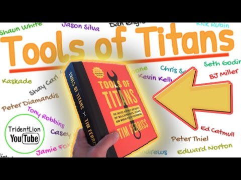 tools of titans, book summary animation, by tim ferriss -
