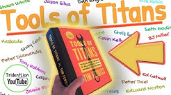 TOOLS OF TITANS, book summary animation, by Tim Ferriss