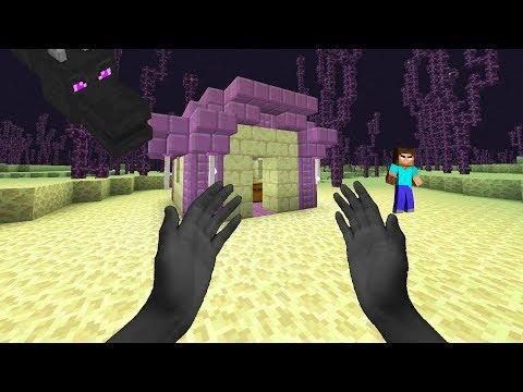 Minecraft in Real Life: Enderman Kid (Realistic Minecraft)