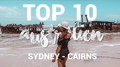 TOP 10 ORTE OSTKÜSTE AUSTRALIEN ∙ Work and Travel Reisetipps & Sehenswürdigkeiten | travelventure