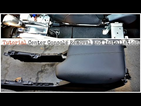 DIY Tutorial Honda Accord Center Console Removal and Installation