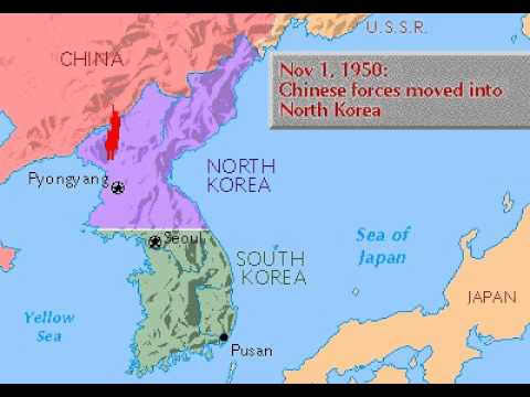 Grolier Multimedia Maps: The Korean War