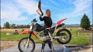 Fixing My Girlfriends Dirt Bike!