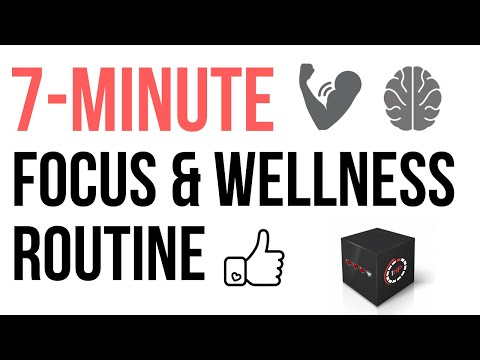 7 MINUTE FULL BODY GAMING HEALTH & FOCUS ROUTINE - A WALKTHROUGH
