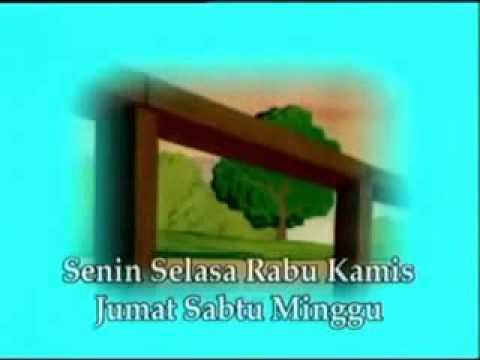 lagu anak indonesia nama nama hari senin selasa rabu kamis