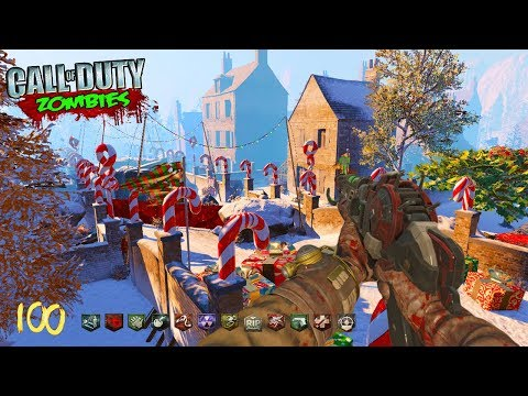 "HUGE ""SANTA'S WORKSHOP"" ZOMBIES w/ NEW GUNS, PERKS, & EASTER EGG! (Call of Duty Black Ops 3 Zombies)"