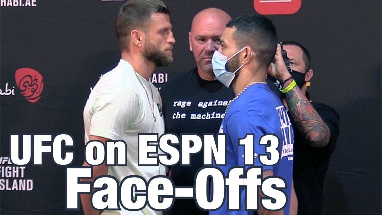 UFC on ESPN 13 Face-Offs: Calvin Kattar vs Dan Ige | Fight Island