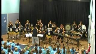 senior percussion ensemble brighton secondary school cairns tour 2007 redlynch concert mpg