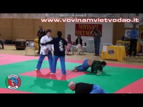 Vovinam Viet Vo Dao - Da Luyen Maestro Giuseppe Pollastro, 1 contro 3