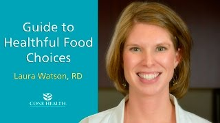 Guide to Healthful Food Choices