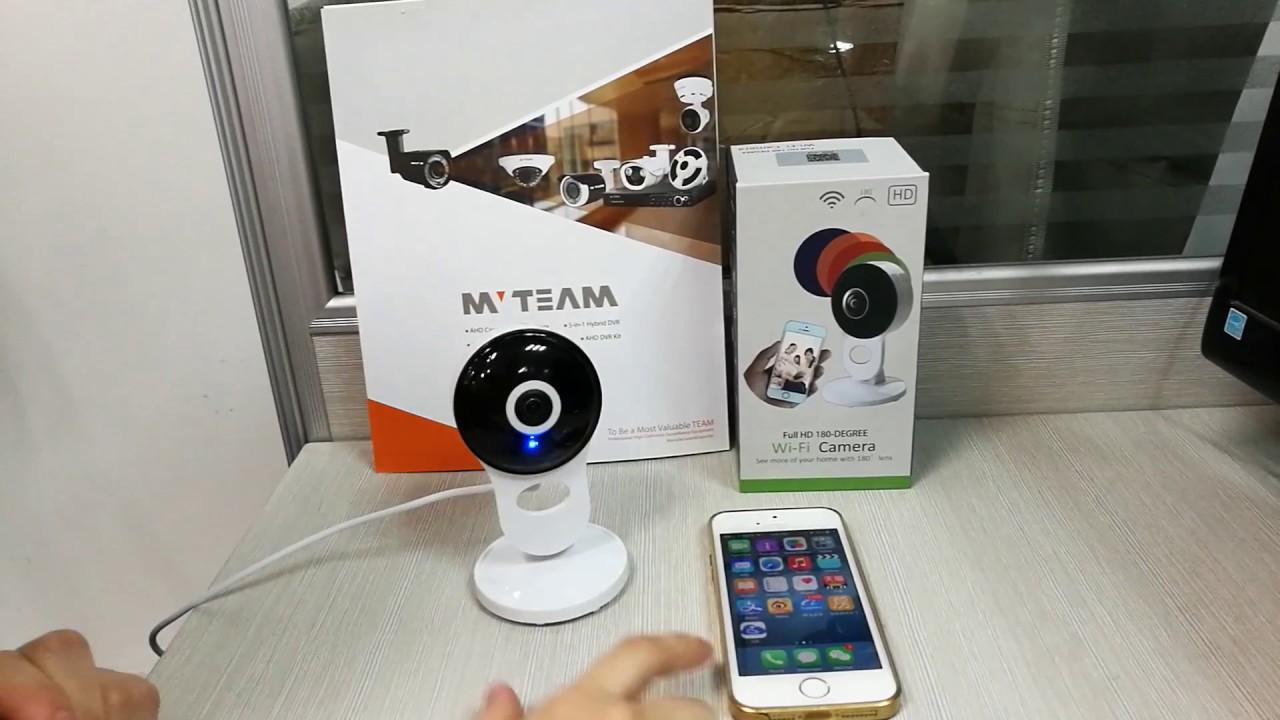 Sonic Wifi Configuration for MVTEAM Wifi Smart Cloud IP Camera