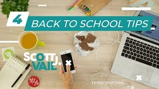 4 Back To School Tips for Adults