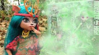 ЗАГРОБНЫЙ СЕКРЕТ ЗЕРКАЛЬНОГО ПОРТАЛА К МОНСТРАМ! СТОП МОУШЕН/ Куклы монстер хай