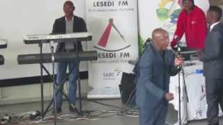 "Teboho Moloi singing ""Motho Mang Le Mang"" in Sharpeville"