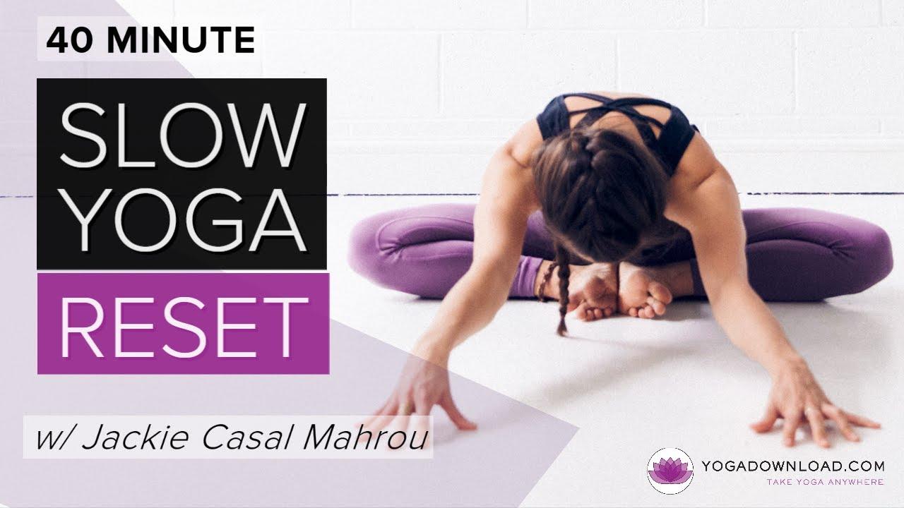 Slow Yoga Reset - FREE YOGA CLASS