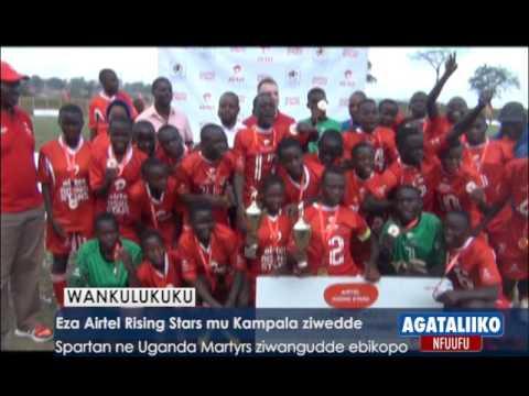 SPORTS:Eza Airtel Rising Stars mu Kampala ziwedde