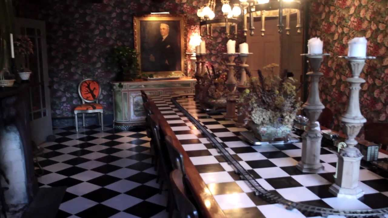 The Alice In Wonderland Home Offbeat Spaces Video Youtube