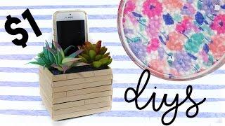 $1 DIY Room Decor | Dollar Store DIY Projects