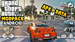 GTA V GRAPHICS Modpack Apk+Data Version 200MB | For GTA SA Android | Best Graphics Modpack | 2020
