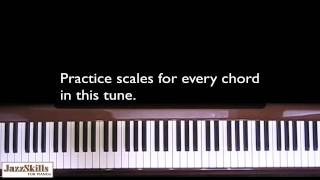 Jazz Piano Lessons - Learning Giant Steps for the Jazz Pianist - Video 1