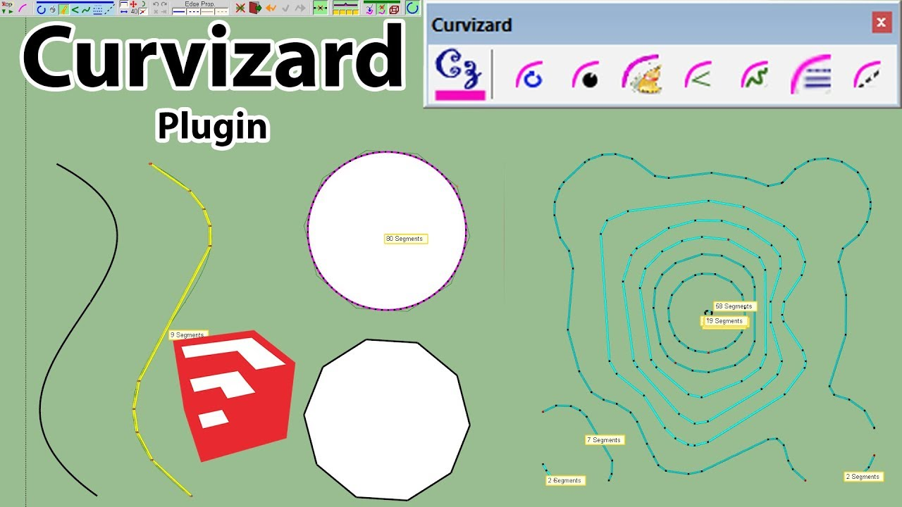 Download Lagu How To Use Curvizard Plugin In Sketchup