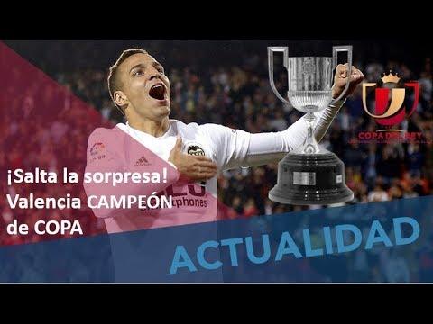 Gatillazo culé. Valencia campeón 2-1 al Barcelona. Mi análisis. #MundoMaldini