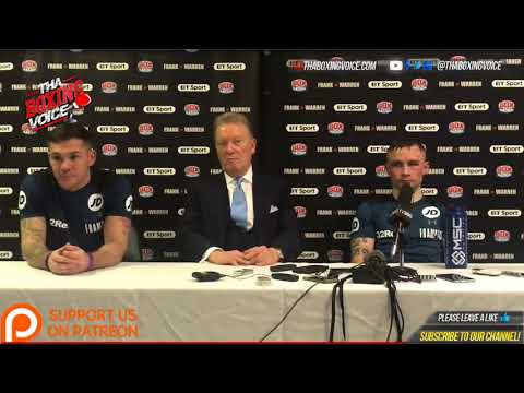 Carl Frampton Horacio Garcia: Post Fight Press Conference From the Belfast Home Coming