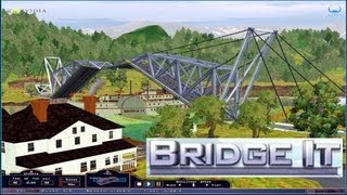 Bridge It review - a great bridge building game.