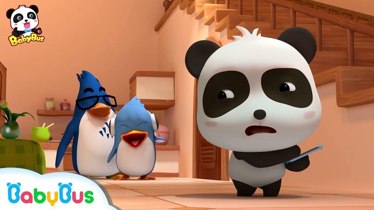 Baby Panda Visits Rudolph's Home | Kids Good Habits | Magical Chinese Characters | BabyBus