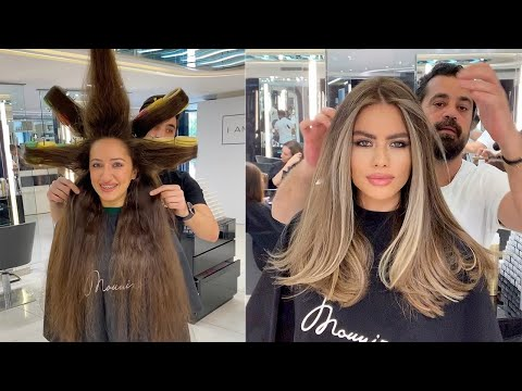 New Trendy Hairstyles By Mounir | Amazing Hair Transformations 2020