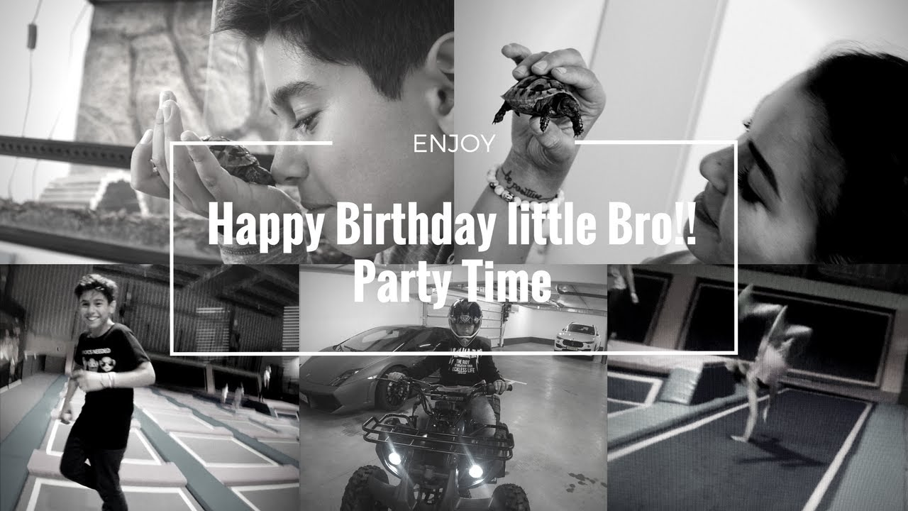 Birthday Gift Ideas For Little Brother Sister And What To Do On That Special Day