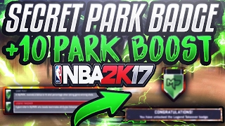 OMG +10 BOOST IN MyPARK • SECRET MyPARK BADGE! • HOW TO GET ALL 9 PARK BADGES INSTANTLY! NBA 2K17