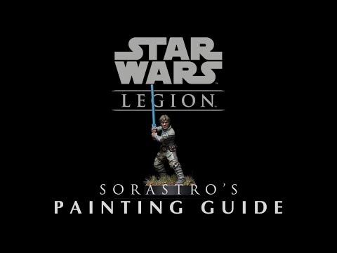 Star Wars Legion Painting Guide Ep.1: Luke Skywalker