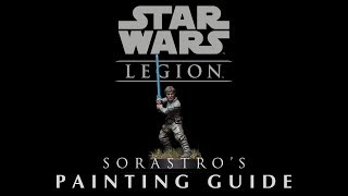 Star Wars Legion Painting Guide Ep.1: Luke Skywalker
