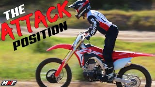 Perfecting the Necessary Dirt Bike Attack Position