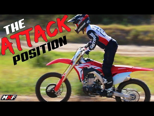 How to Get Into Proper Motocross Riding Position