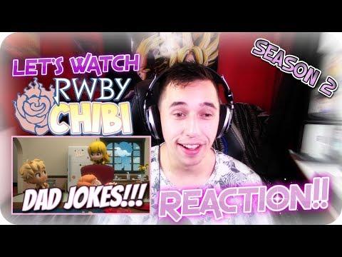 WORSE THAN PUNS!?!?  LET'S WATCH RWBY Chibi Season 2 Episode 4 REACTION!