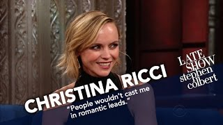For Christina Ricci, Talk Shows Are Literally Child's Play