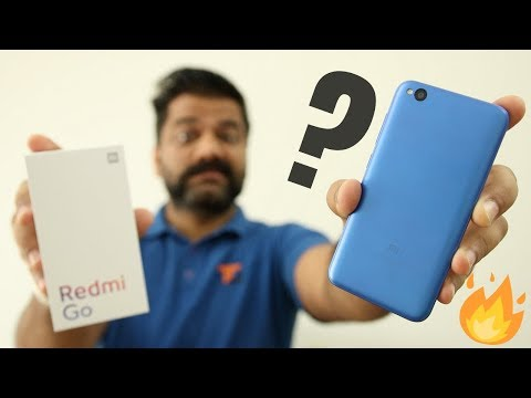 Redmi Go Unboxing & First Look - Don't GO with This 🔥🔥🔥