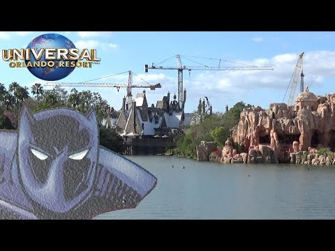 Universal Orlando Update (2/21/2018) with The Legend