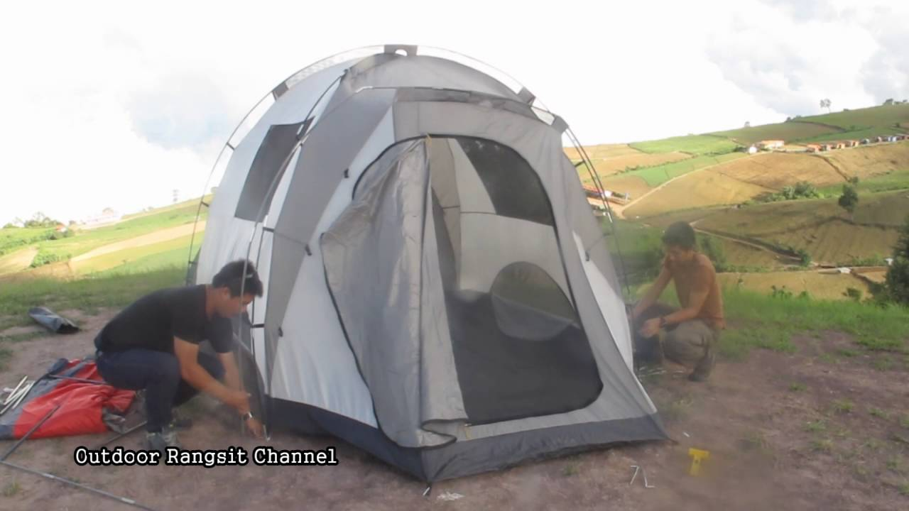 Coleman Waterfall Tent ???????  sc 1 st  YouTube & Coleman Waterfall Tent ??????? - YouTube