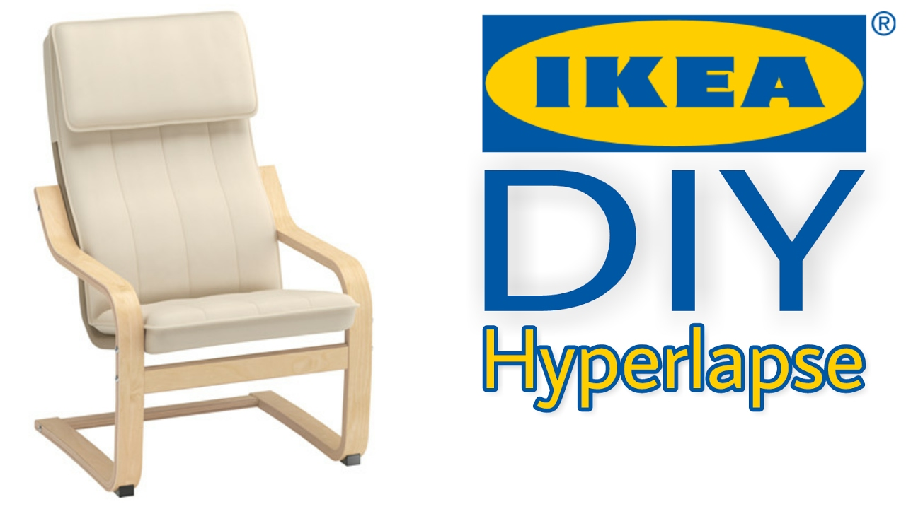 Ikea Diy Timelpase Poang Kids Chair Youtube
