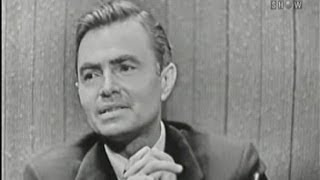 What's My Line? - James Mason; Roger Price [panel] (Jul 29, 1956)