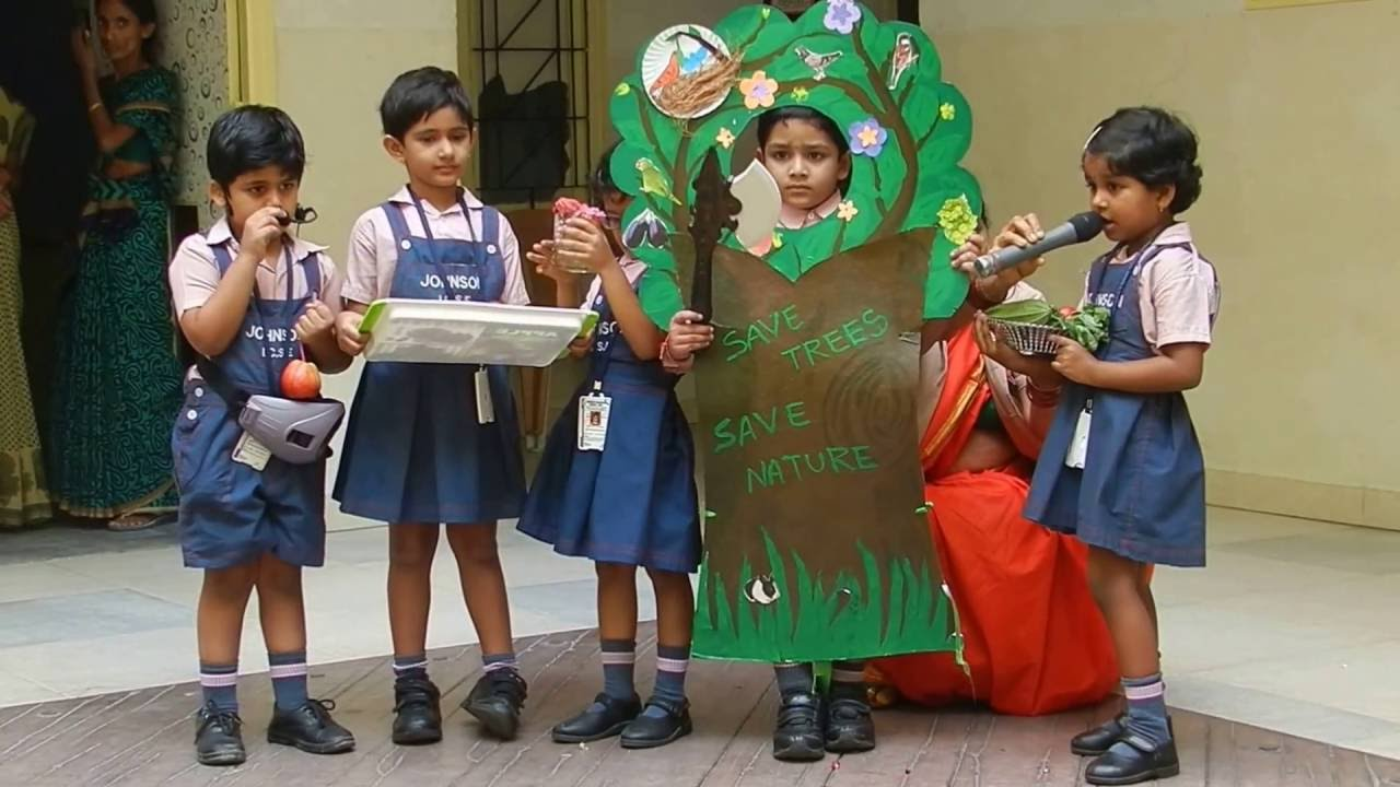 Skit by Pre -primary kids - YouTube