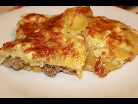 Мясо по-французски с картофелем - пошаговый рецепт с фото